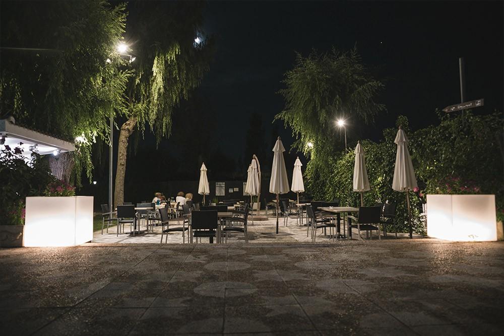 Relax al anochecer en Hotel Conde Rodrigo II